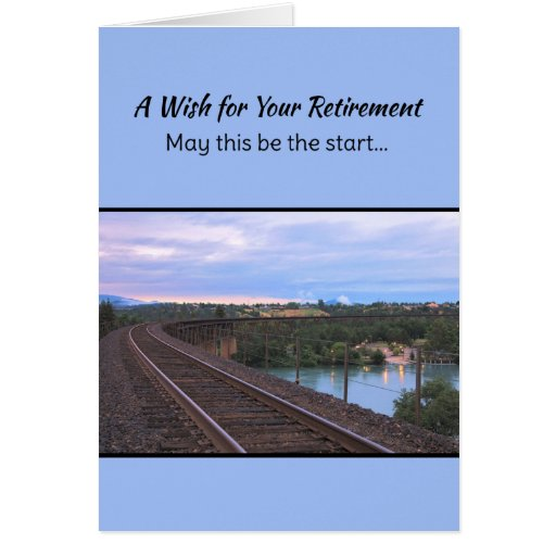 A Wish for Your Retirement... Greeting Cards