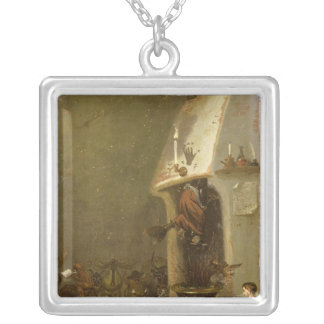 A Witch's Tavern Silver Plated Necklace