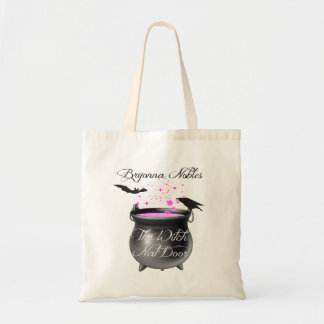 A Witchy Tote Budget Tote Bag