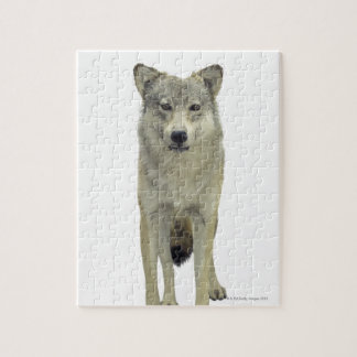 A wolf jigsaw puzzle
