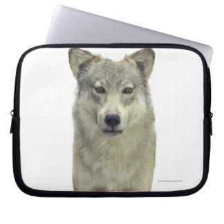 A wolf laptop sleeve