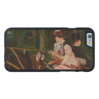 A Woman and a Girl Driving by Mary Cassatt Carved® Maple iPhone 6 Case