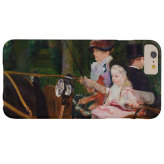 A Woman and a Girl Driving by Mary Cassatt iPhone 6 Plus Case