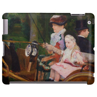 A Woman and a Girl Driving by Mary Cassatt