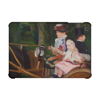 A Woman and a Girl Driving by Mary Cassatt iPad Mini Cases