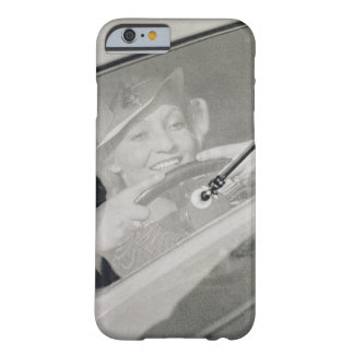 A woman driving, c.1930s (photogravure) barely there iPhone 6 case