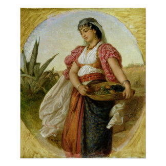 A Woman from Algiers, 1871 Posters