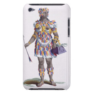 A Woman from Honduras, 1780 (coloured engraving) iPod Touch Case-Mate Case