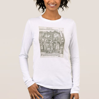 A Woman in Labour, illustration from chapter 2, Bo Long Sleeve T-Shirt