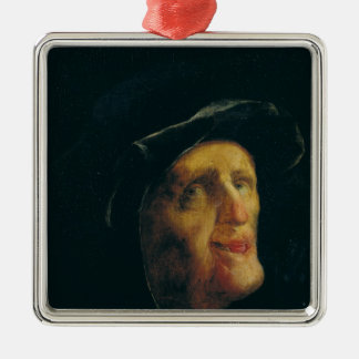 A Woman Laughing Christmas Ornament