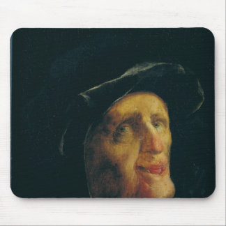 A Woman Laughing Mouse Pad