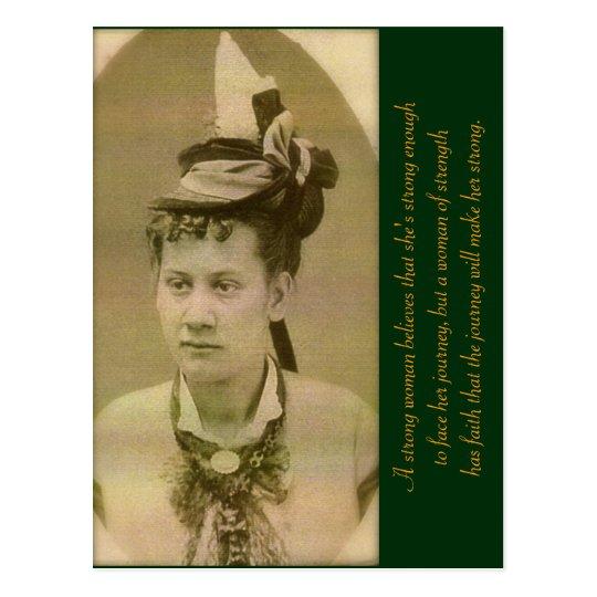 A Woman of Strength Postcard
