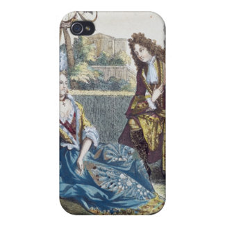 A Woman Seated on the Grass Case For iPhone 4