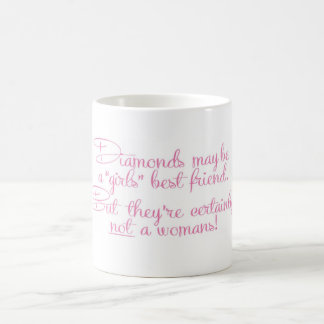 A womans best friend basic white mug