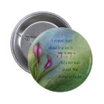 A Womans Heart - Calla Lily 6 Cm Round Badge