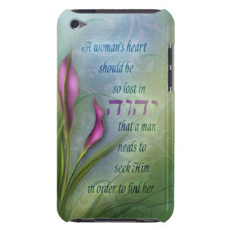 A Womans Heart - Calla Lily iPod Touch Case