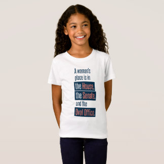 A Woman's Place Girl's T-shirt