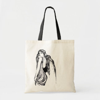 A Woman's Voice Budget Tote Bag