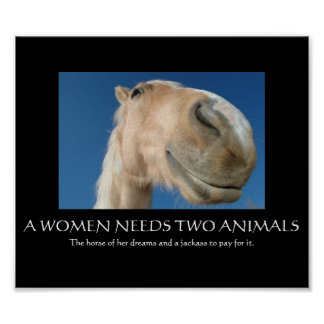 A Women Needs Posters