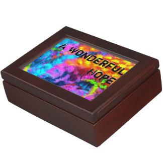A Wonderful Hope Keepsake Box