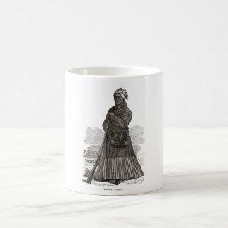 A woodcut image of Harriet Tubman, before 1869 Basic White Mug