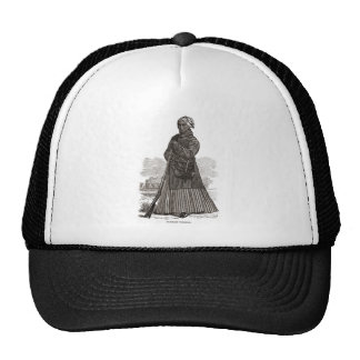 A woodcut image of Harriet Tubman, before 1869 Trucker Hat