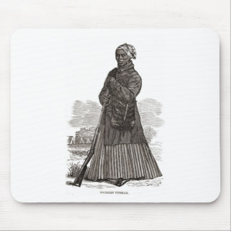 A woodcut image of Harriet Tubman, before 1869 Mouse Pad