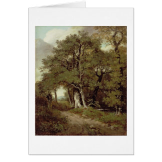 A Wooded Path Card