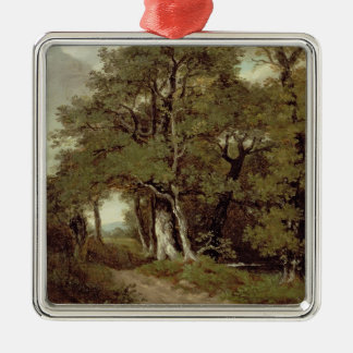 A Wooded Path Christmas Ornament