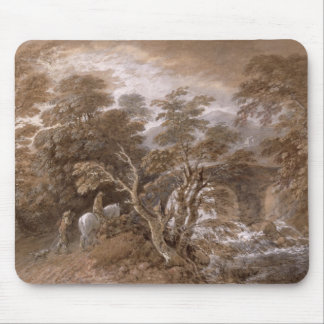 A Woodland Pool with Rocks and Plants, c.1765-70 ( Mouse Mat