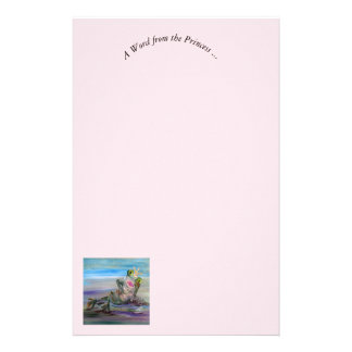 A Word from the Princess Stationery