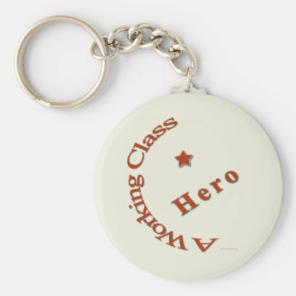A Working Class Hero Keychain