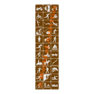 A World of Activities Recreational Highway Signs Poster