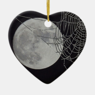 A world Wide Web Ceramic Heart Decoration