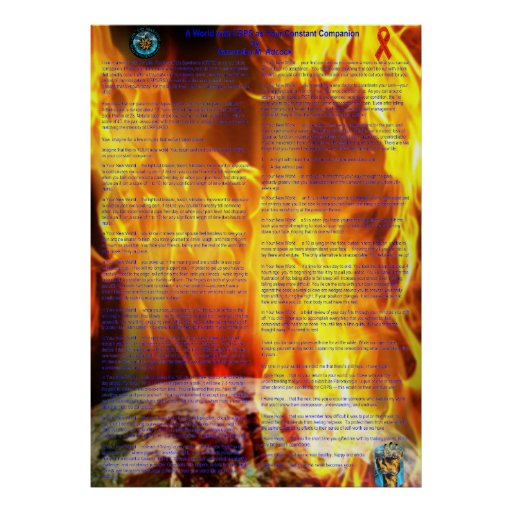 A World With CRPS as Your Constant Companion Earth Posters