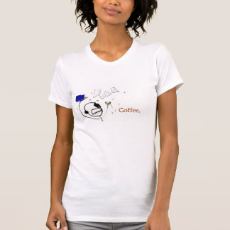 A Writer Without Coffee Tee Shirts