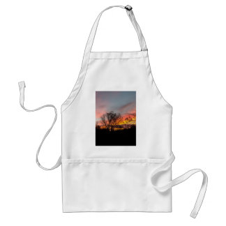 A Wyoming Sunrise Standard Apron
