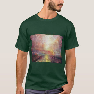 A Yacht Approaching The Arts By Turner Joseph Mal T-Shirt