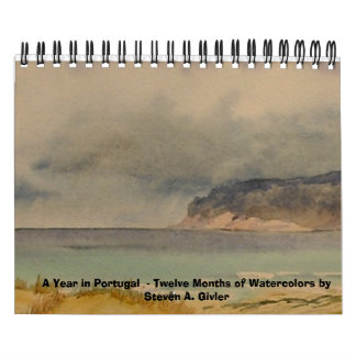A Year in Portugal - A Calendar of Watercolors