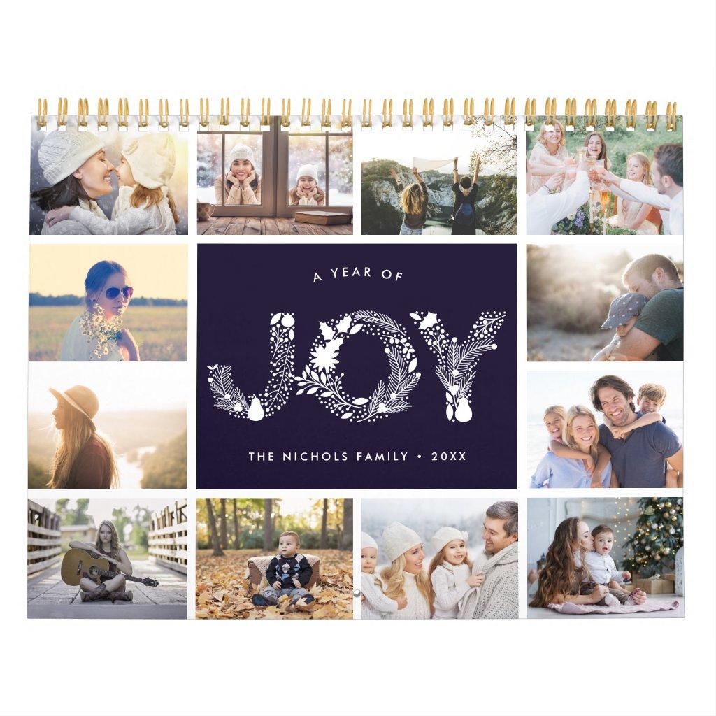 A Year of Joy | 2018 Photo Calendar