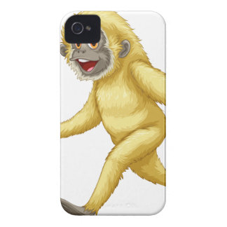 A yellow gorilla iPhone 4 cover