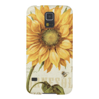 A Yellow Sunflower Galaxy S5 Case