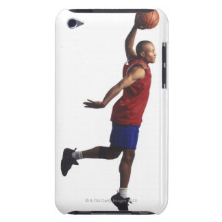 a young adult male basketball player flies barely there iPod cases