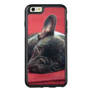 A Young French Bulldog Lying On A Couch OtterBox iPhone 6/6s Plus Case
