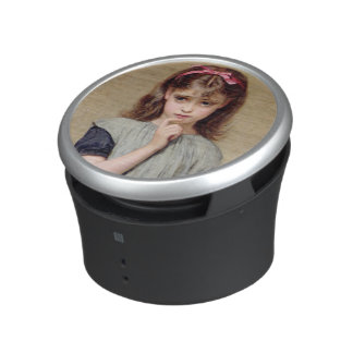 A Young Girl in the Classroom, 1876 (oil on canvas Bluetooth Speaker