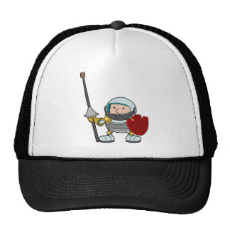 A young knight trucker hat