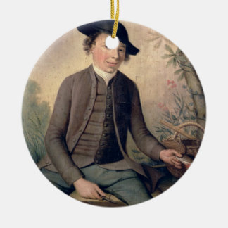 A Young Man Gutting Fish, 1782 (panel) Christmas Ornament
