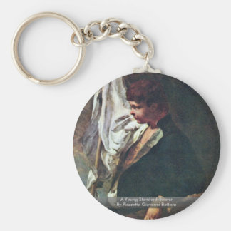 A Young Standard-Bearer Basic Round Button Key Ring