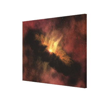 A young star canvas print