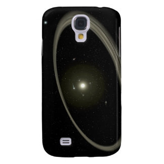 A young star circled by full-sized planets galaxy s4 case